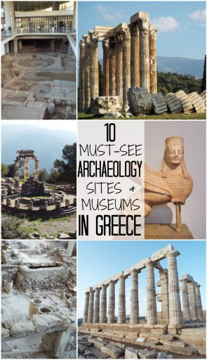 10 Unmissable Archaeological Sites and Museums in Greece