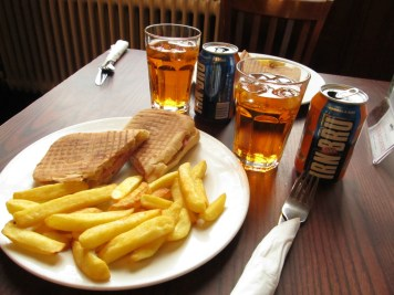 Pub food, Edinburgh