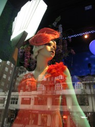 Great Gatsby-inspired display at Harrods