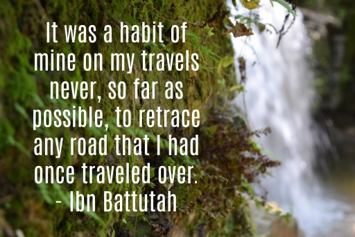 Ibn Battutah travel quote
