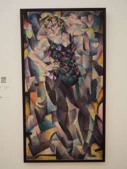 """Cubist Female Figure"" by Leo Gestel"