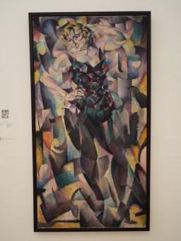 """Cubist Female Figure"" by Leo Gestel"