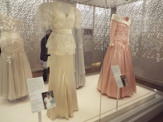 Dresses at the Princess Di exhibition