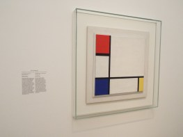 """Composition No. IV, with Red, Blue and Yellow"" by Piet Mondrian"