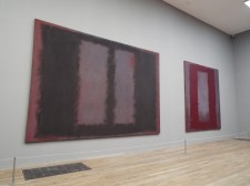 The Mark Rothko room