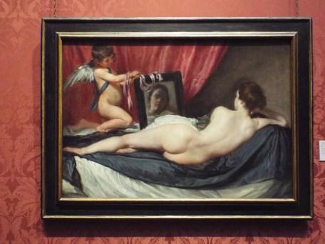 """""""Venus at her Mirror"""" by Diego Velazquez"""