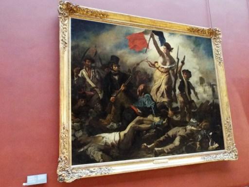 "Eugene Delacroix's ""Liberty Leading the People"""