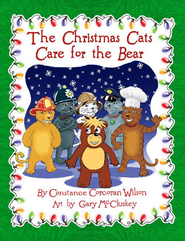The Christmas Cats Care For the Bear