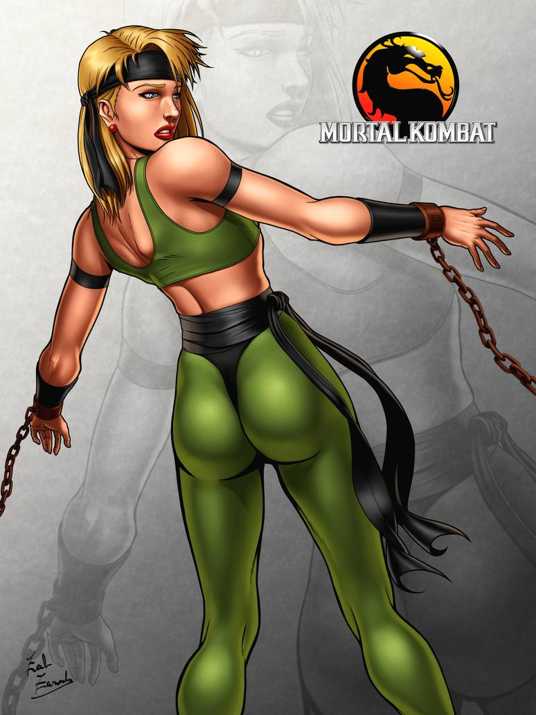 Sexy Sonya Blade Mortal Kombat