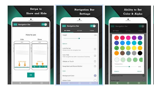 Navigation Bar App