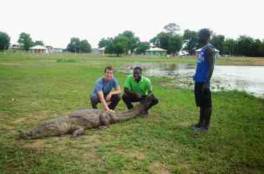 Paga Crocodile Pond