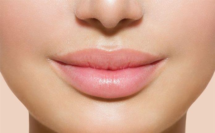 Large puffy lips