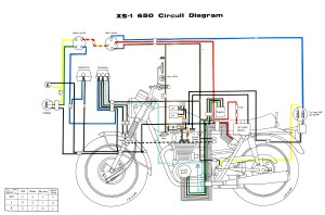 XS650: 70 XS1 Wiring Diagram | thexscafe