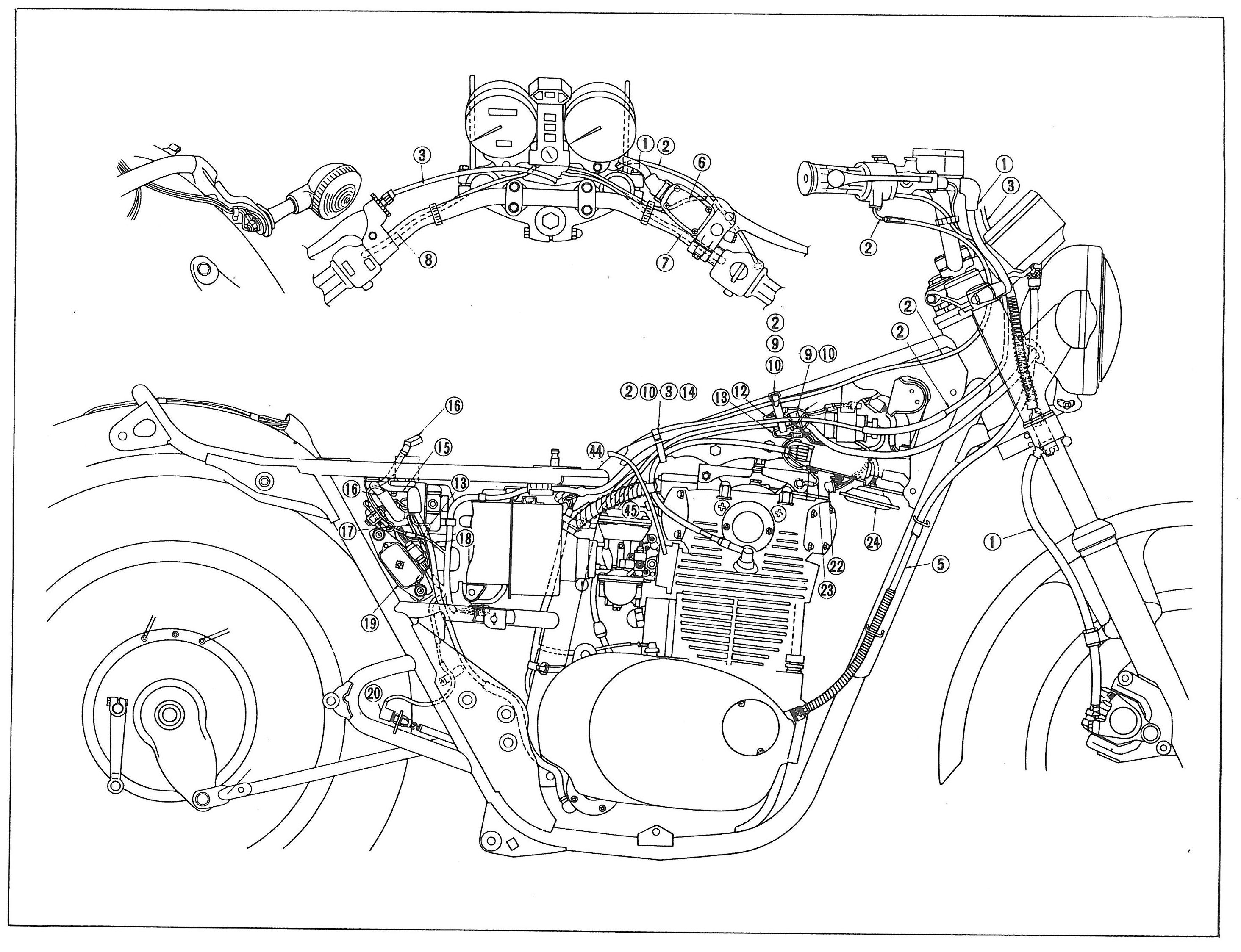 Xs650 Wiring Harness