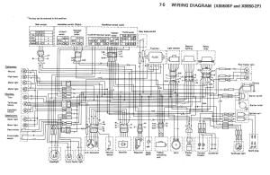 XS650: 79 XS650SF2F Wiring Diagrams | thexscafe