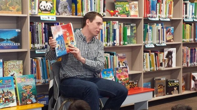 Author Visits - Elementary Schools in BC