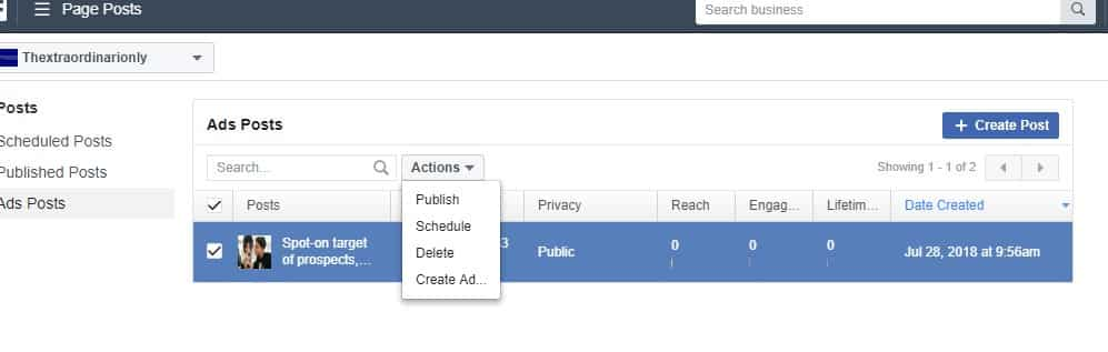 5 Tutorial how to create free facebook leads select Publish