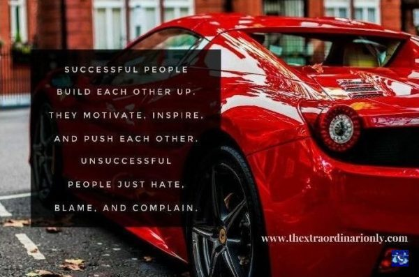 thextraordinarionly successful people feature image in blog post by Hazlo Emma, tips to achieve success quote