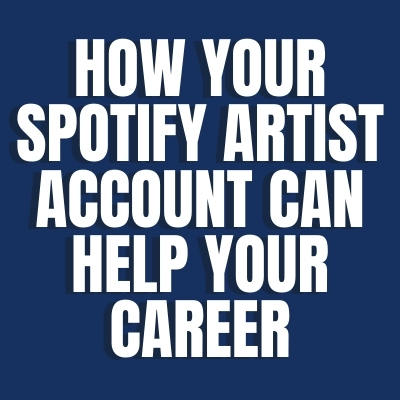 Spotify Artist Account