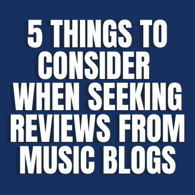 Reviews from Music Blogs