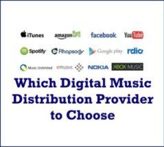Digital Music Distribution Provider