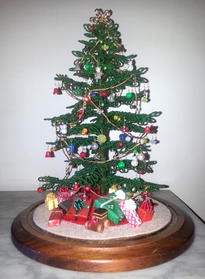Beaded Christmas Tree © Paul H. Byerly