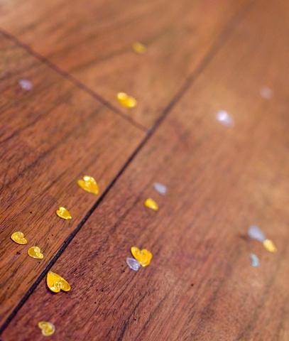 Floor with hearts © Monacoff | Dreamstime.com