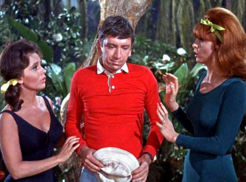Mary Ann, Gilligan, and Ginbger © Warner Bros. Television Distribution