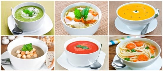 Soups © tiramisustudio | freedigitalphotos.net