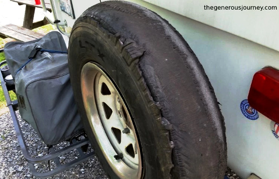 Ugly tire © Paul H. Byerly