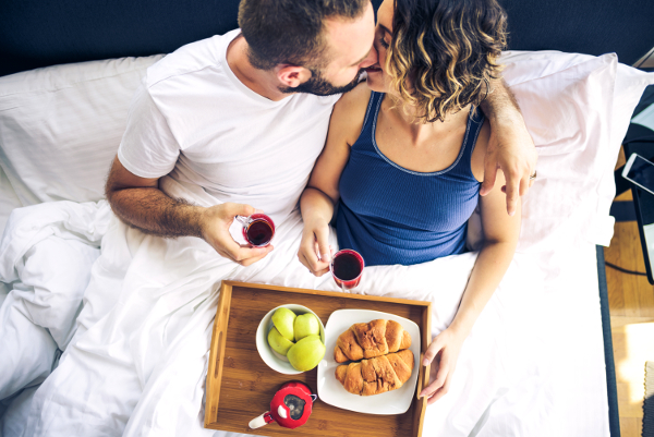 Breakfast in Bed With Benefits