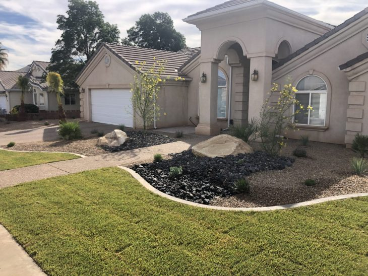Yard Makeover in St. George