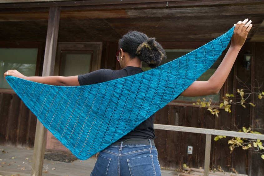 Audre Shawl by Mary Richardson