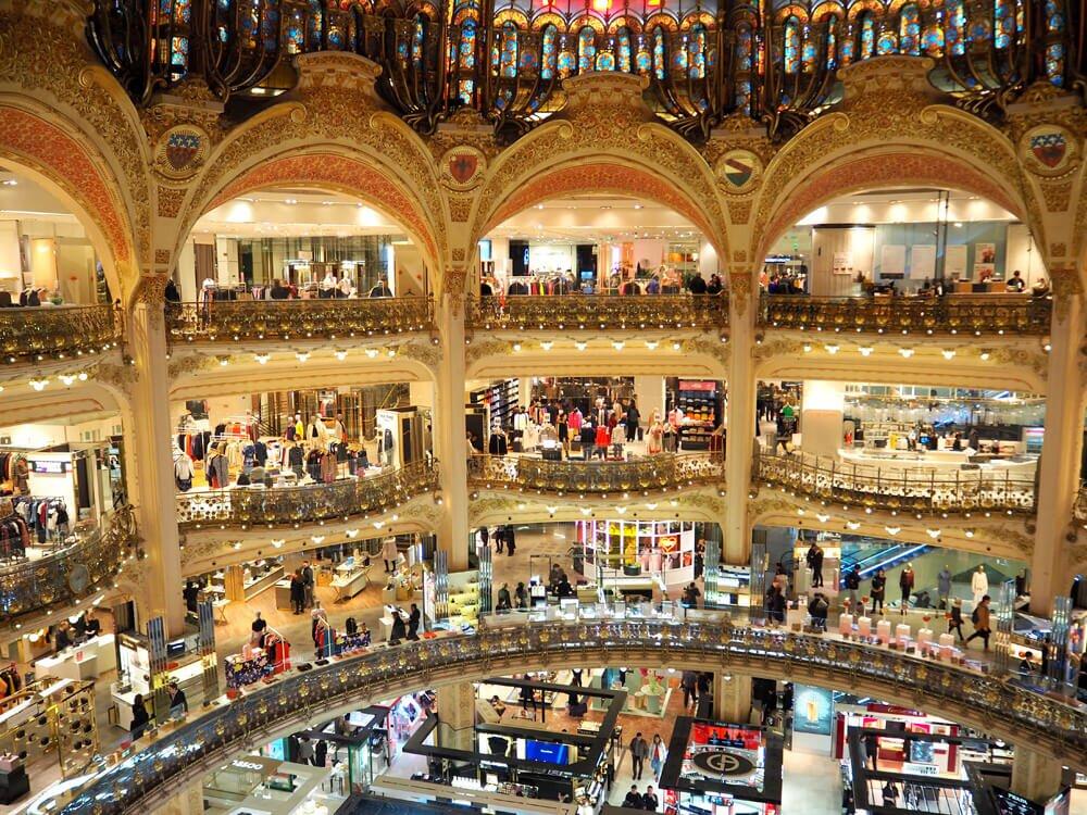 Galeri Lafayette Paryż