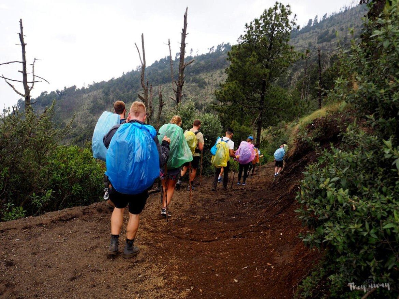 trekking wulkan Acatenango