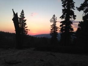 Yosemite at Sunset