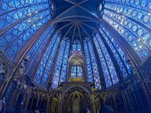 Stained glass of Sainte-Chapelle is amazing!