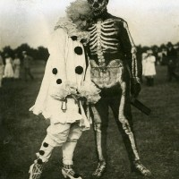 Silent Sundays: Skeleton with Clown (1920)