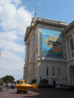 The Musee Oceanographique.