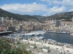 Monaco and its port.
