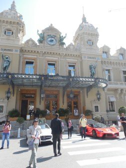 The Monte Carlo Casino, with supercars out front to pose with.