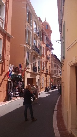 Even more narrow streets here.