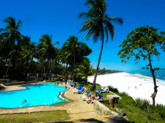 Swimming pool and beach