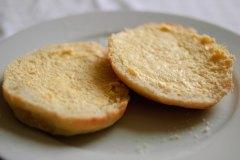 Soft, white rolls (aka barm cakes)