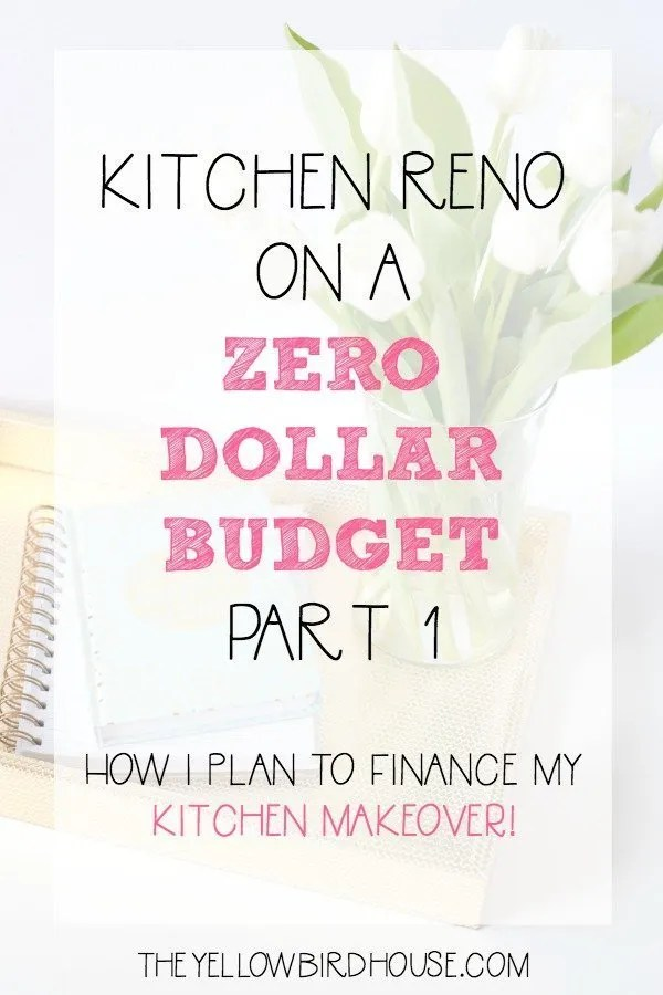 My plan to find the money I need to give my kitchen a makeover!