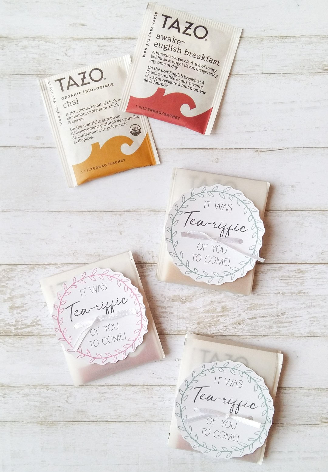 Cute and easy DIY shower favour. Wow your guests with an adorable 'thank you' gift as they leave the party! A simple DIY baby shower favor idea that would also be awesome as a bridal shower favor! Inexpensive shower favors for under $20!