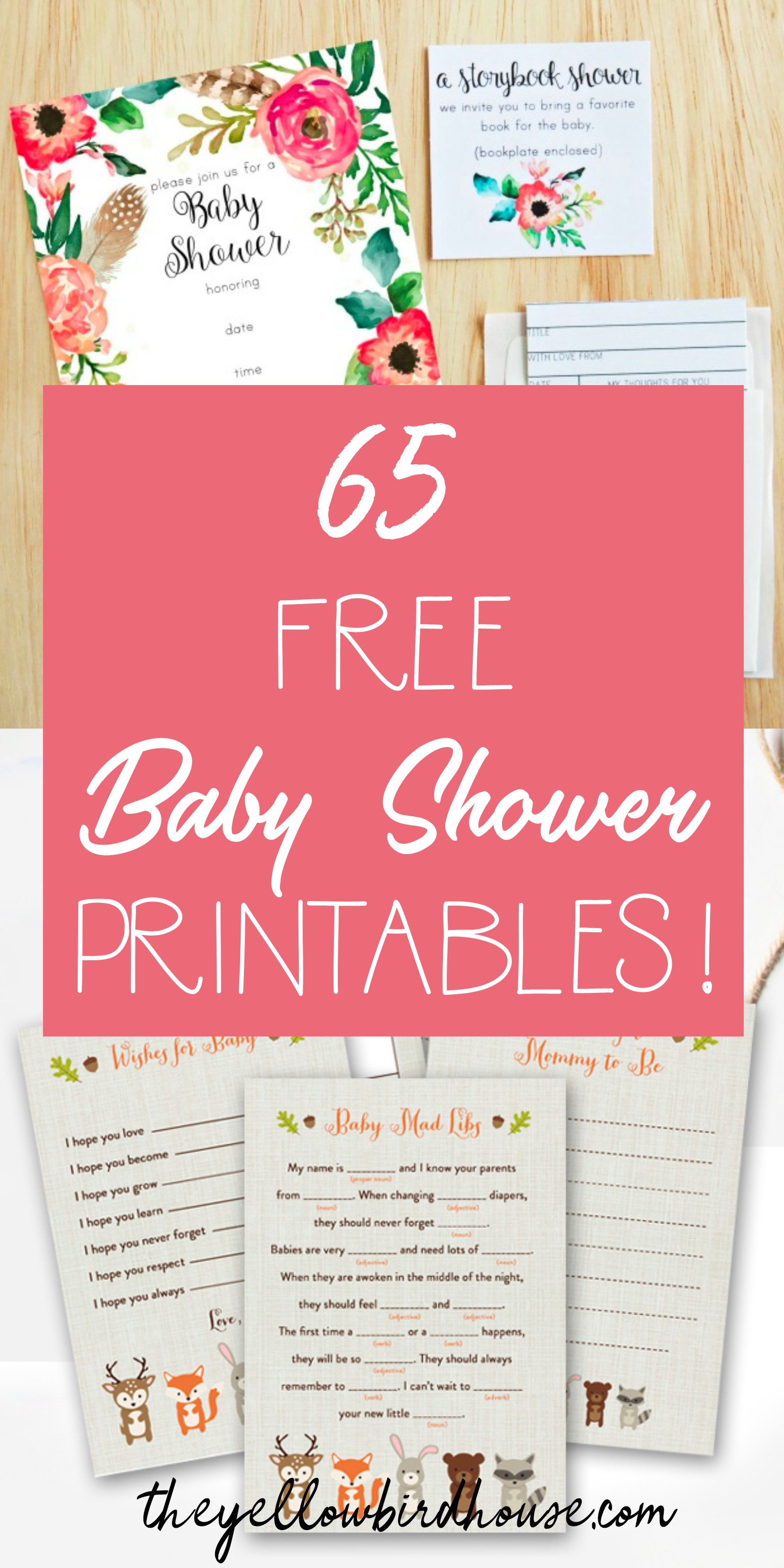 65 Free Baby Shower Printables For An Adorable Party