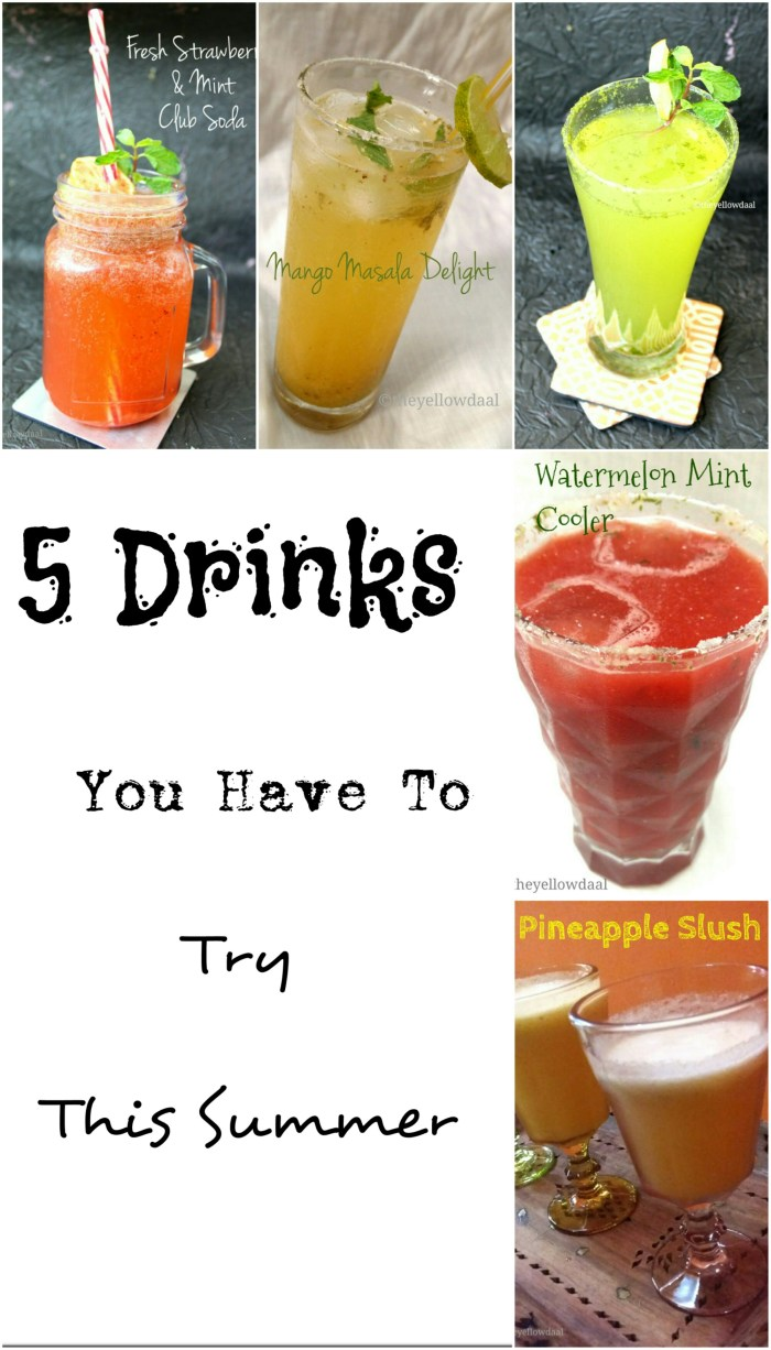 5 Awesome Drinks For This Summer