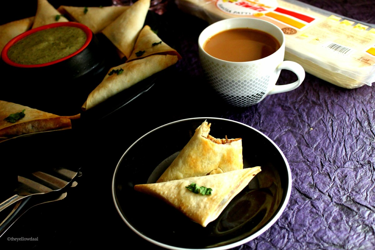 Baked Chicken Samosa | Home Made Tea Time Snack