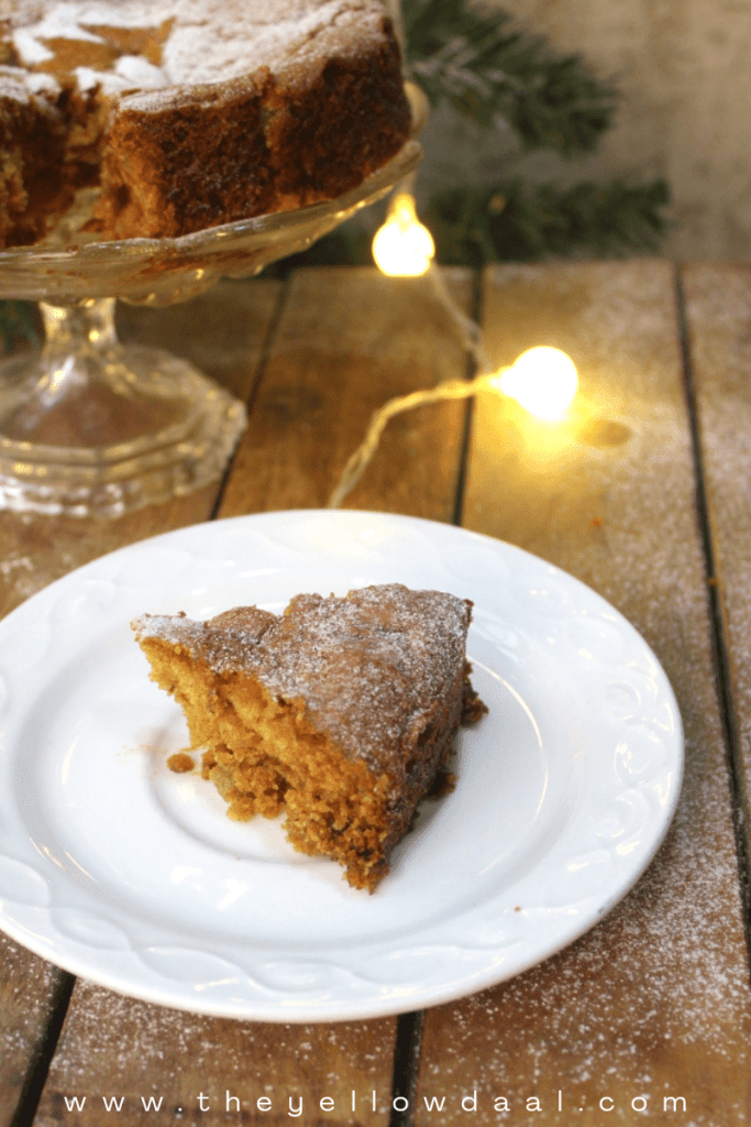 Eggless-fruit-cake-christmas-slice
